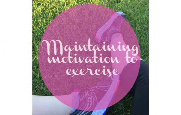maintain motivation to exercise