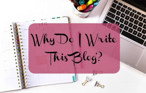 why i blog now