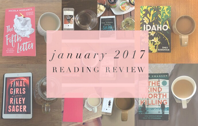 january 2017 reading review
