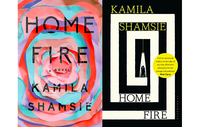 Home Fire US and Australian covers